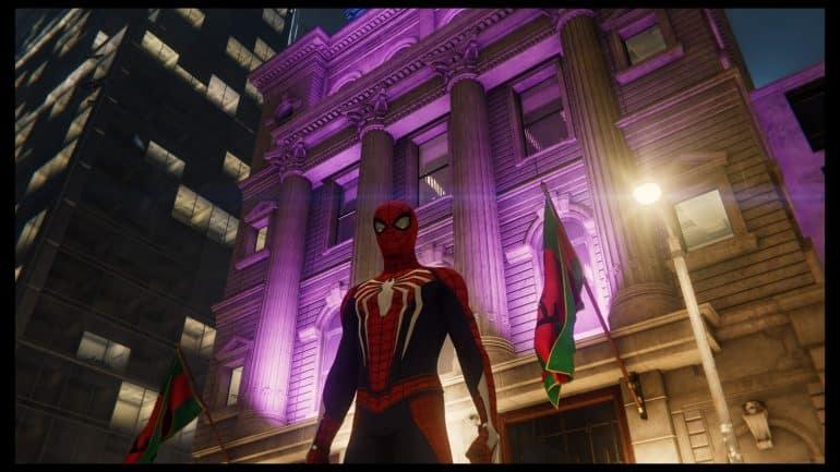 Spider-Man - Wakanda Embassy