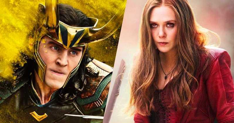 Loki and Scarlet Witch