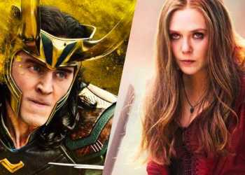 Loki and Scarlet Witch