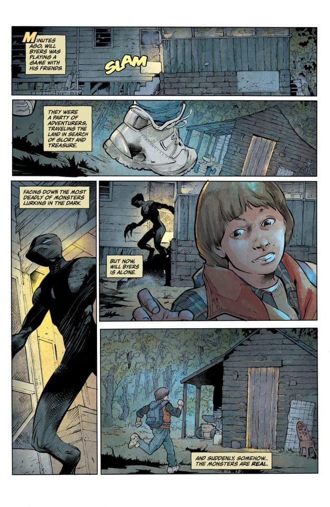 Stranger Things #1 Comic Book