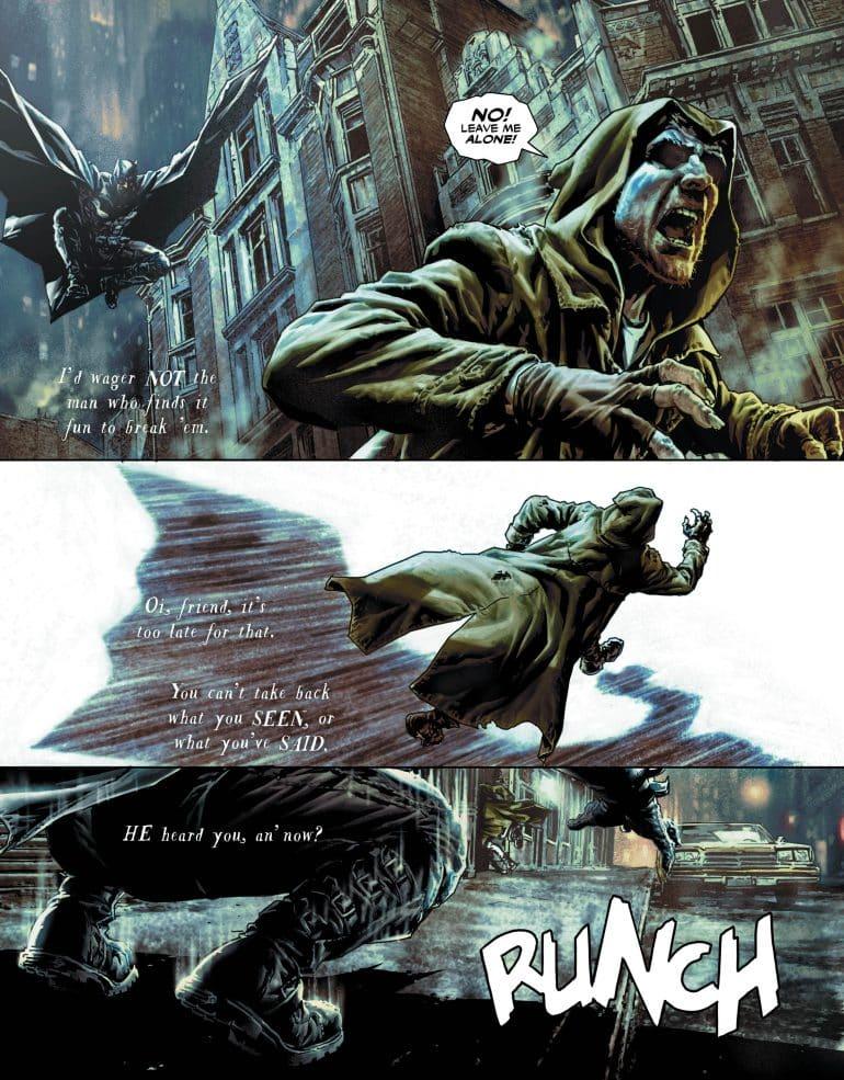 batman damned #1 comic book