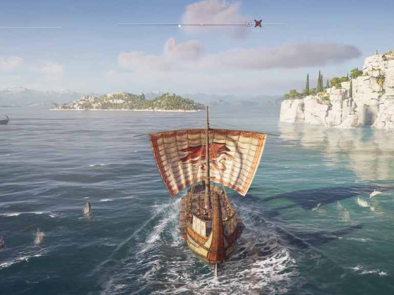 Assassin's Creed Odyssey boat