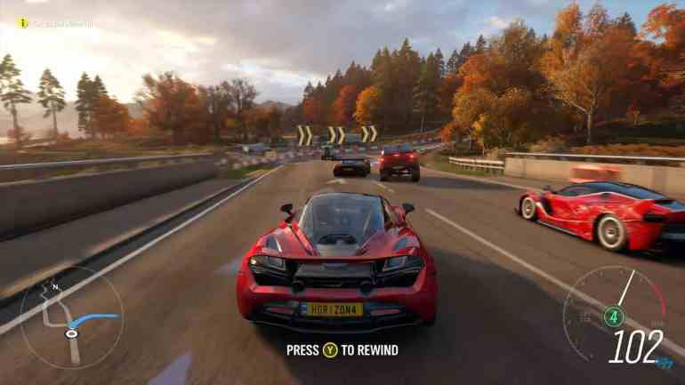 Forza Horizon 4 Gameplay