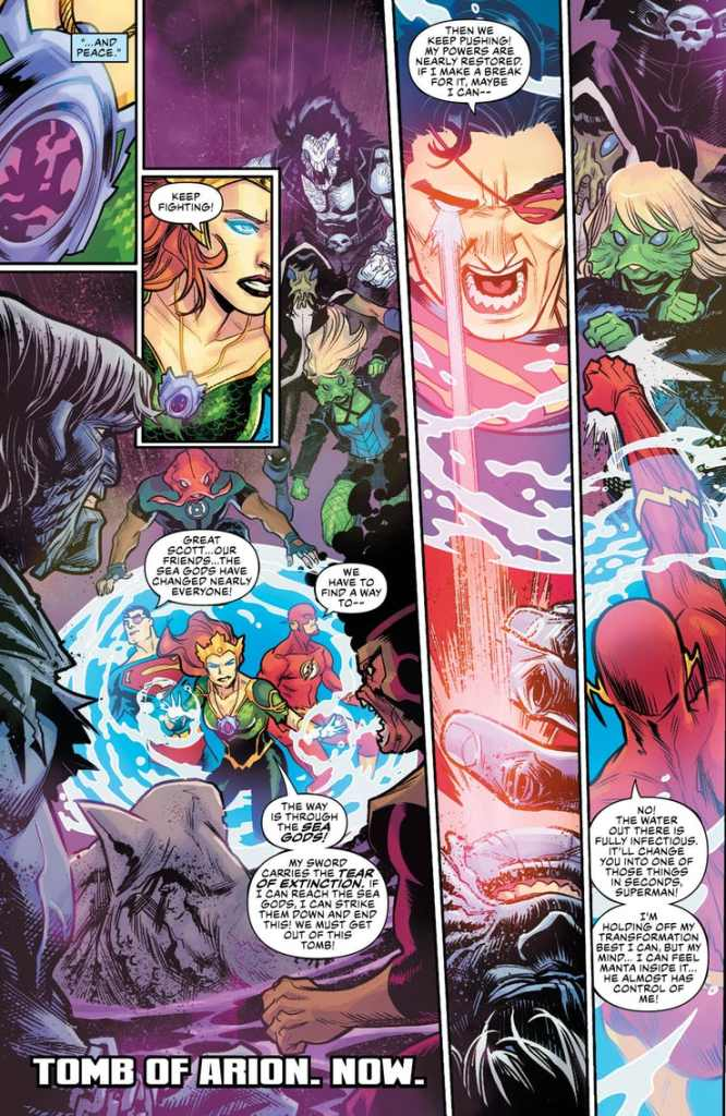 Aquaman/Justice League: Drowned Earth #1