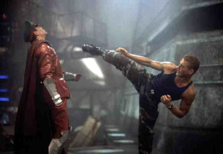 Jean-Claude Van Damme Street Fighter
