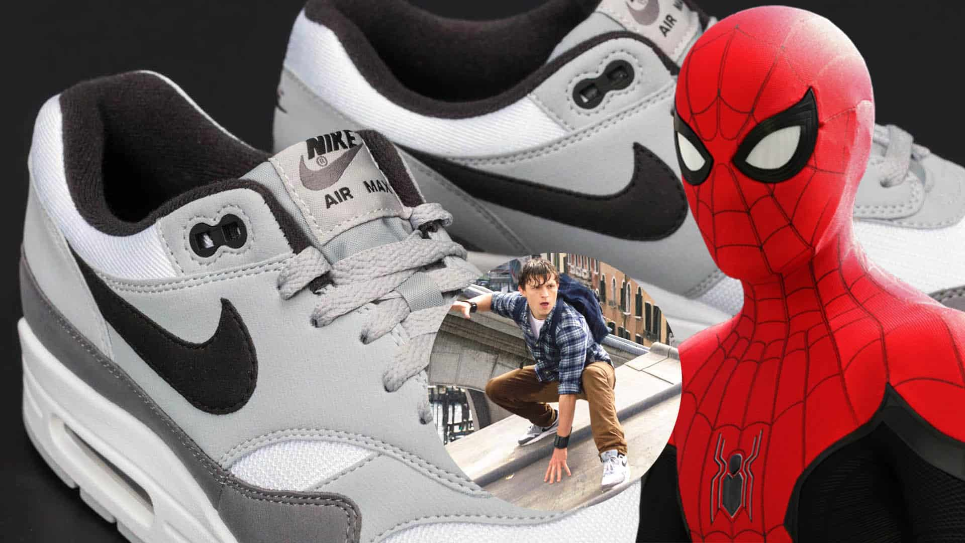 Peter Parker Wears Nike Air Max 1 Sneakers In Spider Man Far From Home