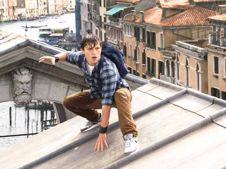 Peter Parker Wears Nike Air Max 1 Sneakers