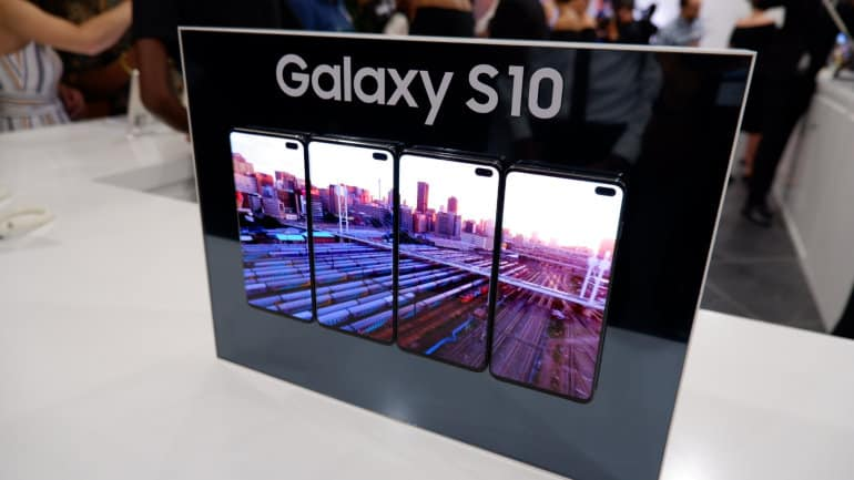 Samsung Reveals The Galaxy S10 And Galaxy Fold