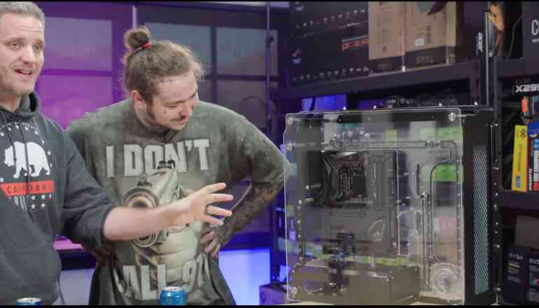 Post Malone's $6,400 Gaming PC