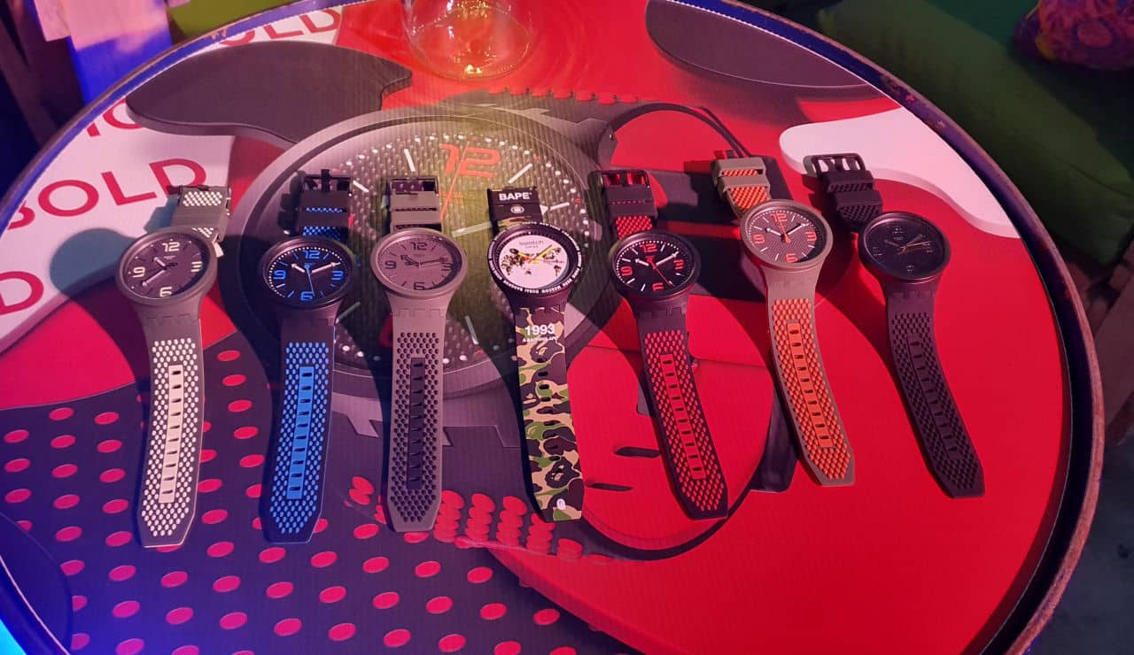 Swatch Launches New Range - Big Bold Collection
