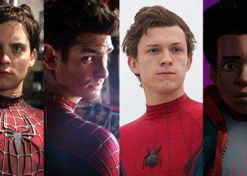 Spider-Man Tobey Tom Andrew Myles