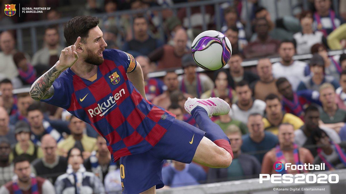 Win A eFootball PES 2020 Hamper