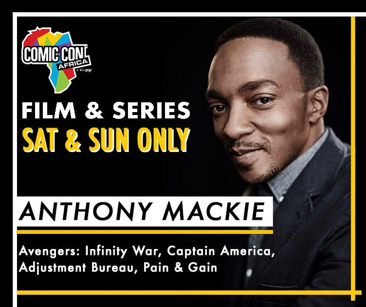 Anthony Mackie Comic Con Africa