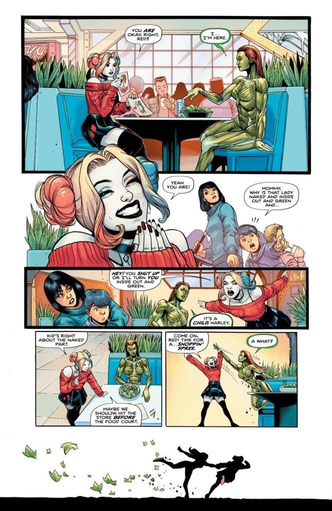 Harley Quinn and Poison Ivy Comic Book Review