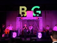 The band kept the crowd very entertained - loved the DJ stand amidst the #DallasBig sign