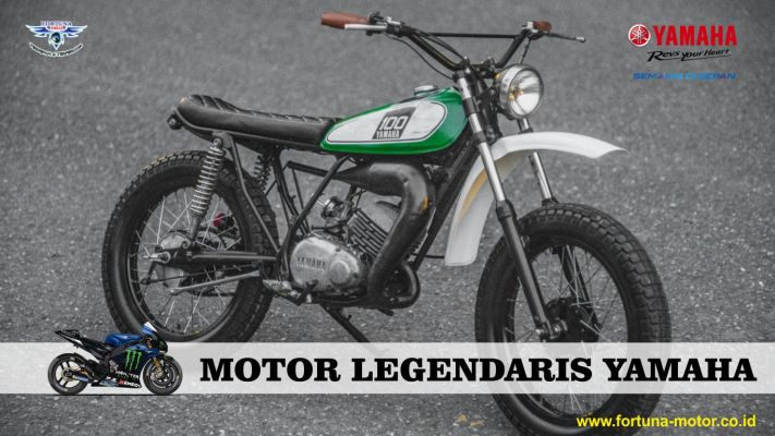 motor legendaris yamaha