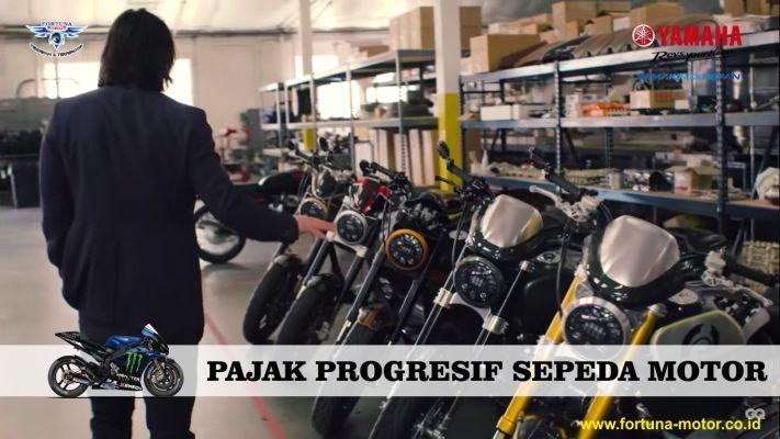 pajak progresif sepeda motor