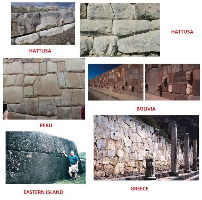 Mura poligonali nel mondo