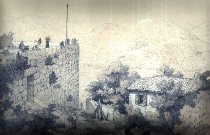 Veduta Porta Maggiore dell'Acropoli