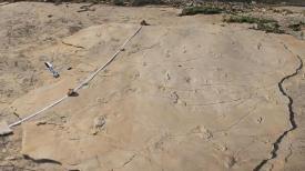 Impronte umane scoperte nel sito di Trachilos (Creta)