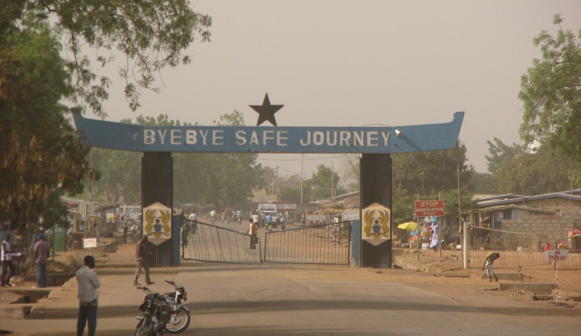 An Artist's Diary I: Negotiating West African Borders by C. Krydz Ikwuemesi