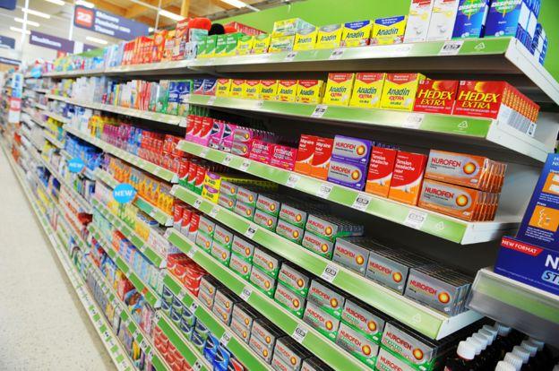 φαρμακα στα σουπερ μαρκετ