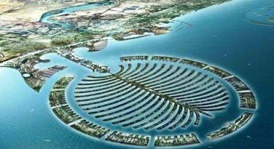 Dubai's man made Palm Islands