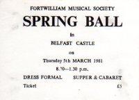 Spring Ball ticket
