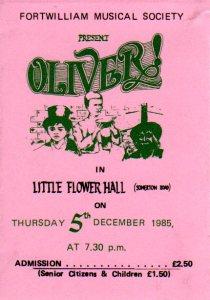 Oliver! ticket