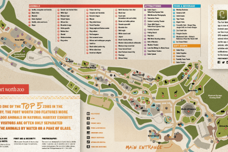 Columbus Zoo Map Pdf. Columbus Ohio Attractions Map, Indiana State ...
