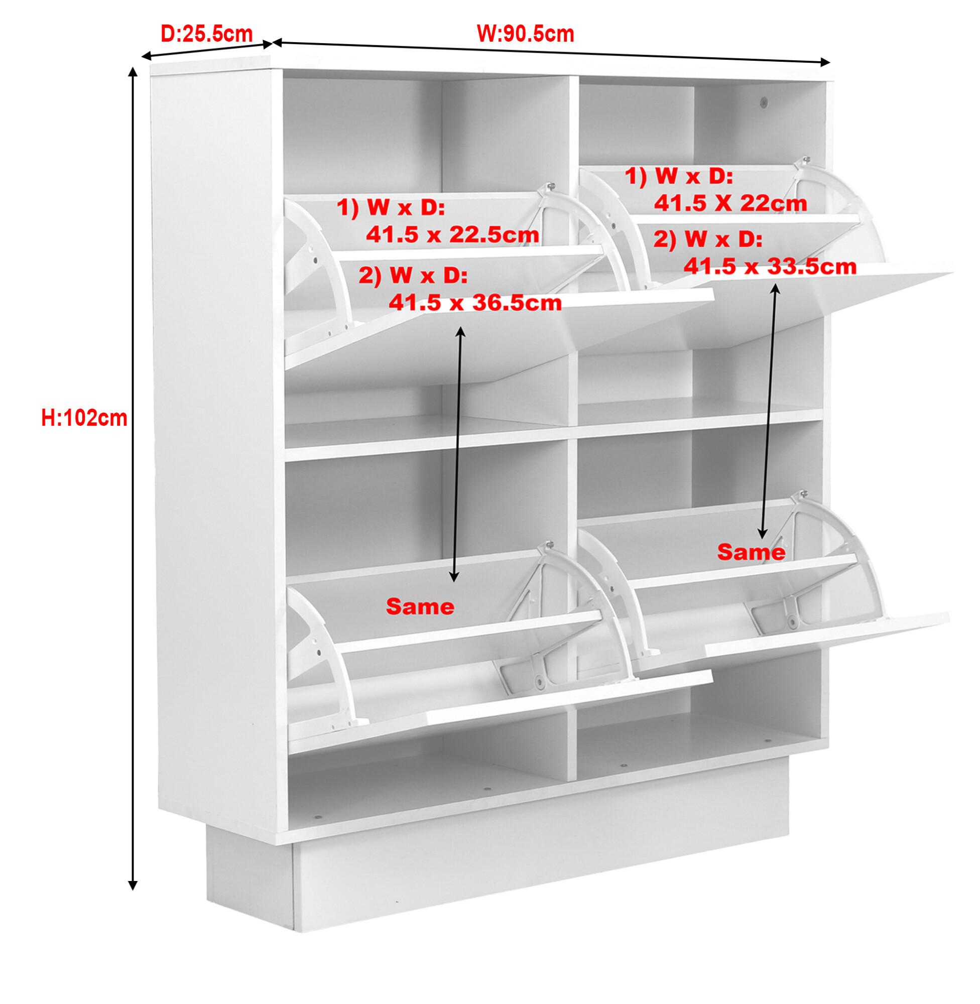 Abelino Shoe Rack In Walnut Furniture Amp Home Dcor