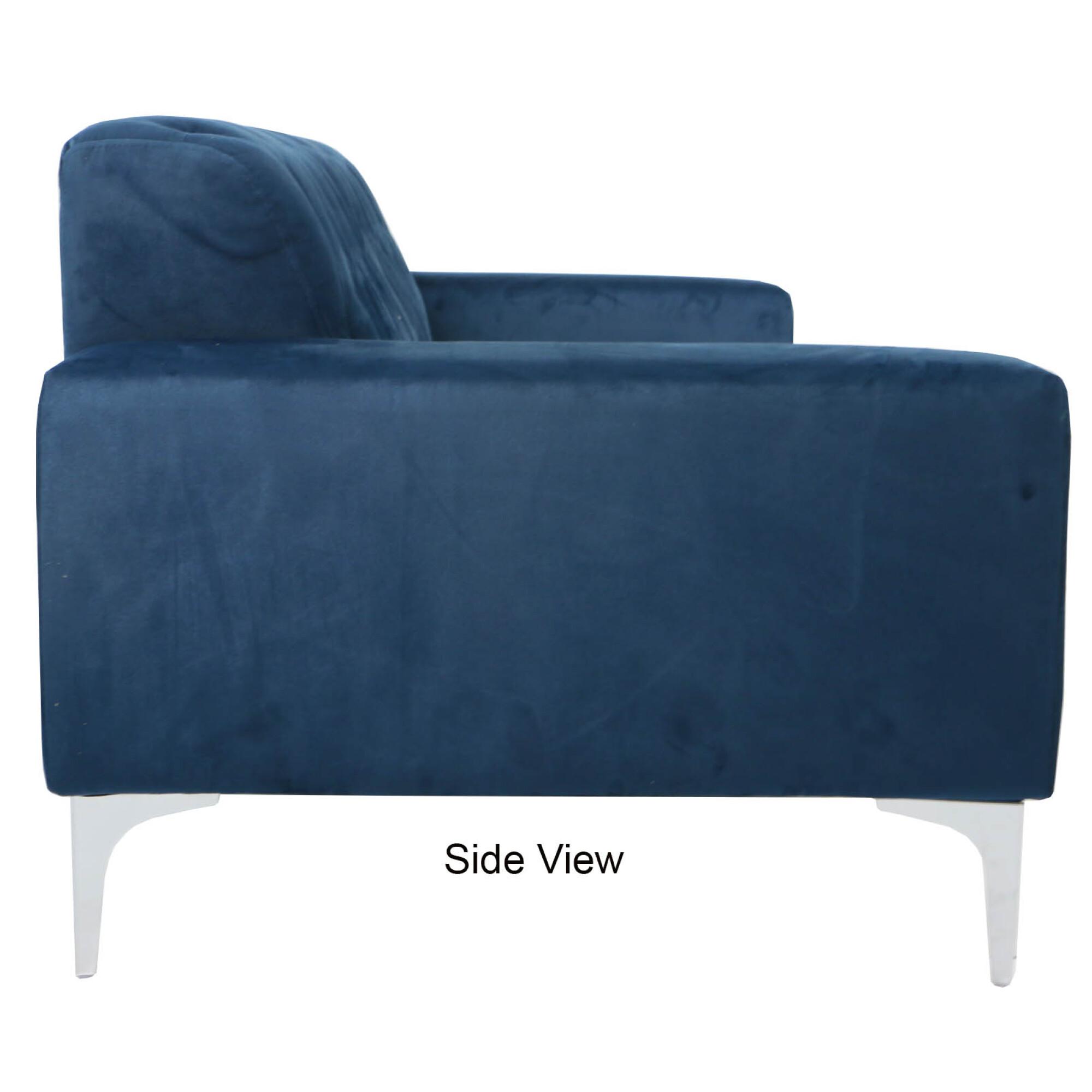 Cecilie 3 Seater Sofa Dark Blue Furniture Amp Home Dcor