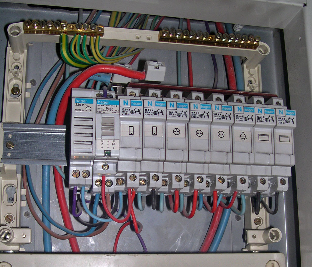 Coffret Electrique