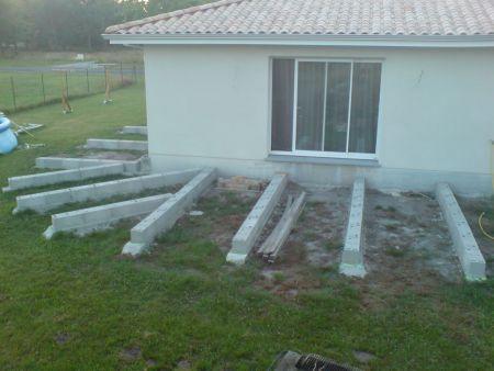 terrasse bois creation d une