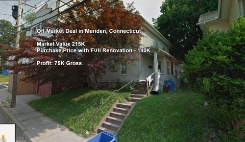 Off Market Deal in Meriden, Connecticut - Purchase Below Market Price and Opportunity for Improvement