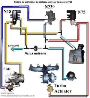 Installation des durites d'air pour le Turbo Passat TDI
