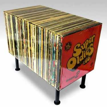 most-unique-furniture-in-the-world-Record-Table-Made-of-Recycled-Classic-Rock-Vinyl-Records