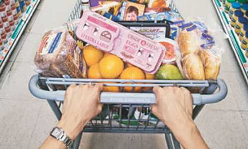 germiest places grocerycarts