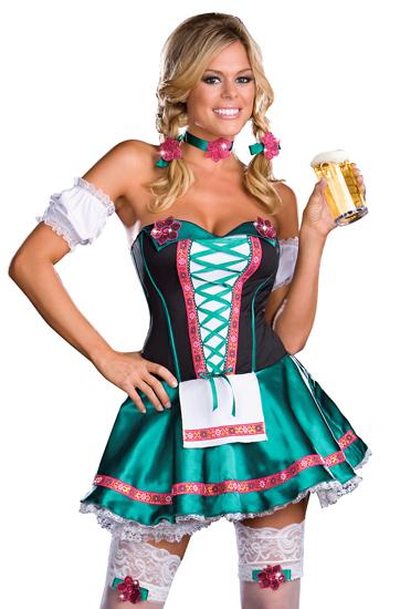 adult women s bavarian 5 piece heidi hottie german costume sizes s to