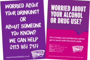 posters and leaflets forward leeds