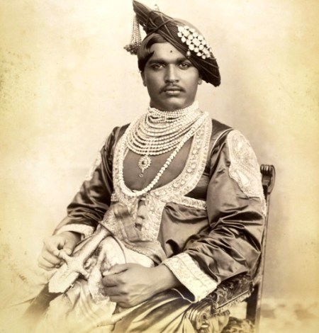 Shahu, around the time of his coronation (1894)