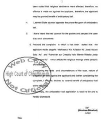 chhattisgarh-high-court-mahishasur-page-2
