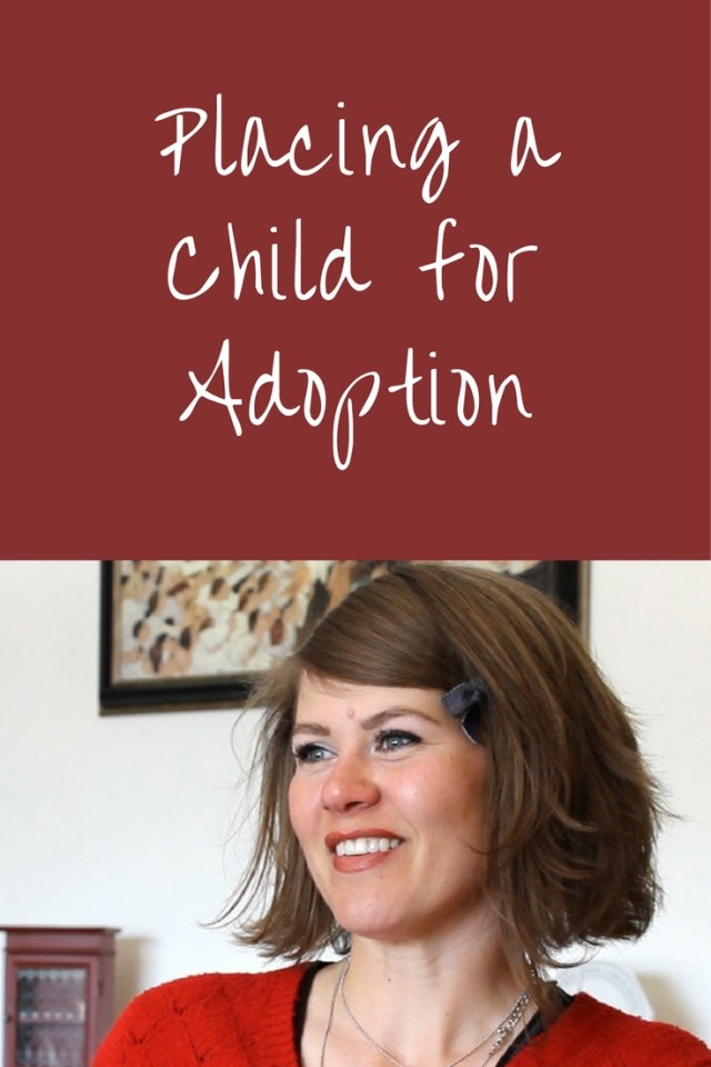 Should someone place a child for adoption? Tamra, a birth mother and adoption advocate, shares the beautiful story of her decision to place her son for adoption. Placing a child for adoption.