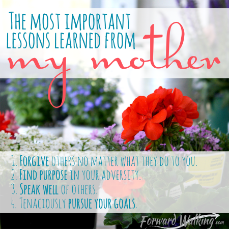 lessons learned from mom