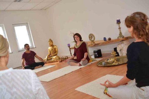 Yoga ondersteunt het herstel