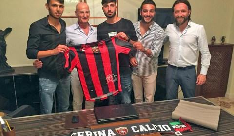 Le prime dichiarazioni in rossonero del centrocampista Pierfrancesco Vecchione: