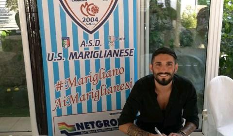 L'ex fantasista della Nocerina Achille Aracri è stato ufficializzato dalla Mariglianese calcio, squadra militante nel campionato di Eccellenza campana.