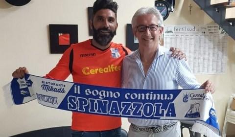 La Nuova Spinazzola, squadra militante nella Promozione pugliese, ha ufficializzato l'ingaggio del portiere, classe '81, Massimo Cilumbriello. Ex Nocerina, ha vestito la maglia rossonera nella stagione 2003/2004, in serie C2, […]