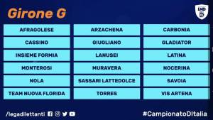 2020-21 Serie D Girone G
