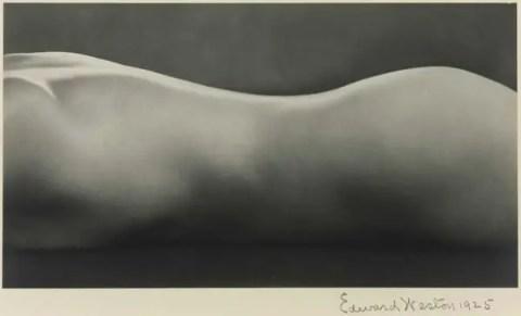 Edward Weston, Nude (1925)